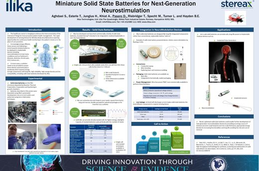 NANS Virtual Poster 2021 - Miniature Solid State Batteries for Next-Generation Neurostimulation